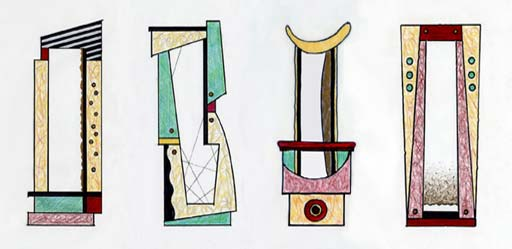 Art of Furniture by I.A. Keer: Gaucho & the GILDed Art Mirrors